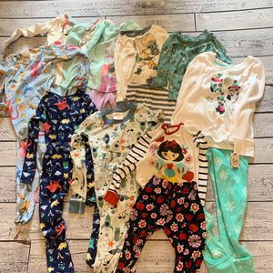 Lot of 5T pajamas
